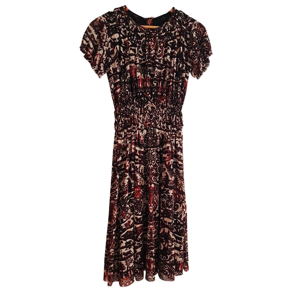 Jean Paul Gaultier \N Kleid in  Bunt Viskose