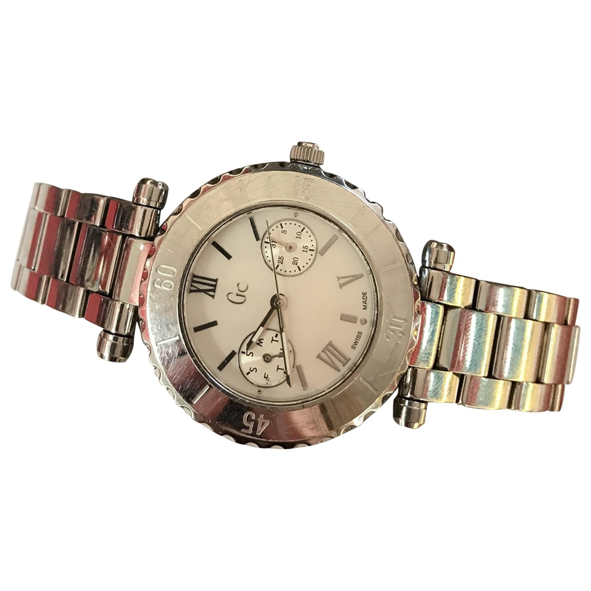 Guess \N Anthracite Steel watch for Women \N