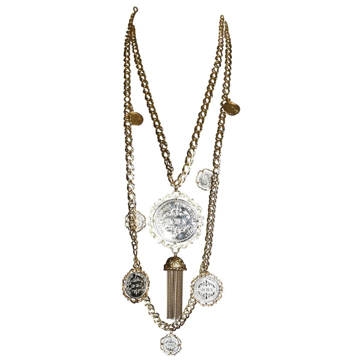 Dolce & Gabbana \N Kette in  Gold Vergoldet