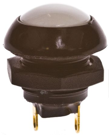 Otto Single Pole Double Throw (SPDT) Momentary Push Button Switch, IP68, Panel Mount, 28V dc