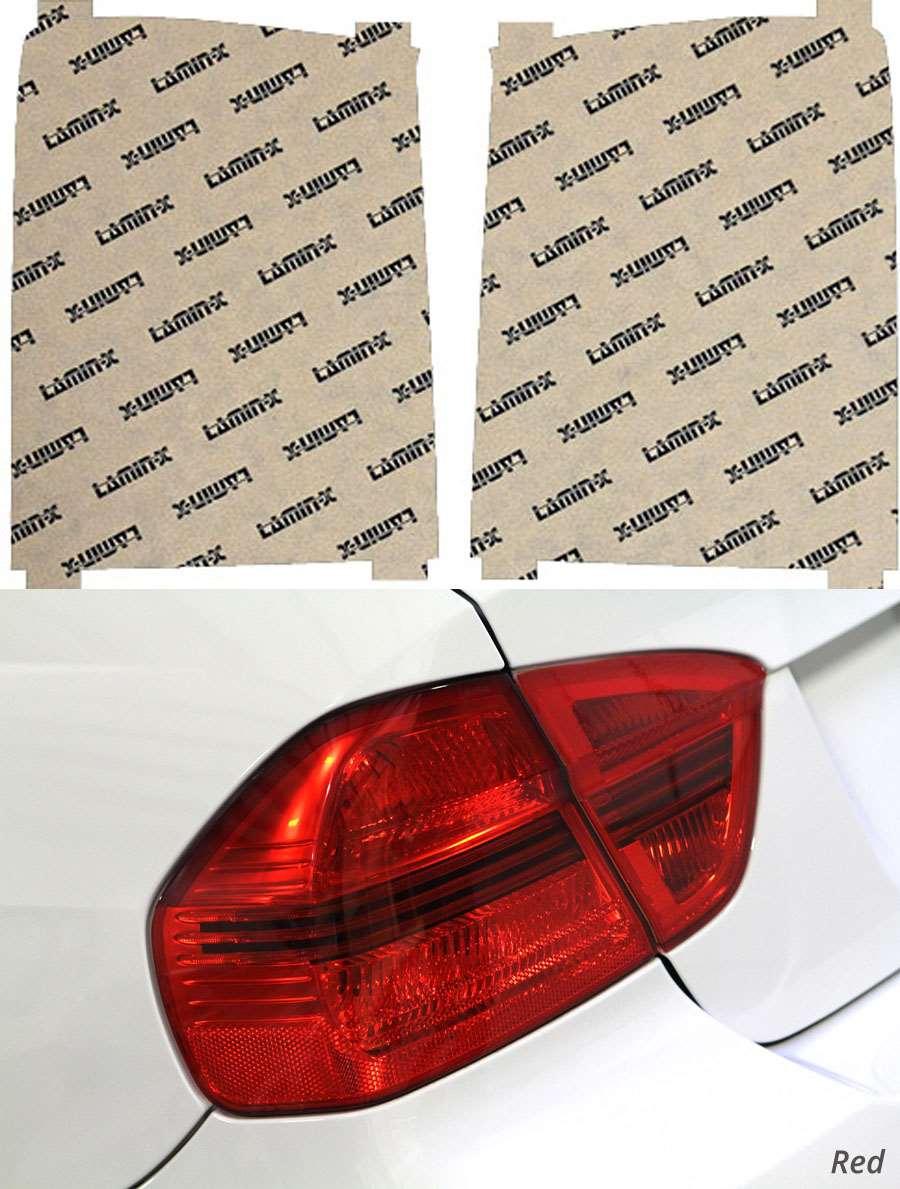 Honda Pilot 09-11 Red Tail Light Covers Lamin-X H229R
