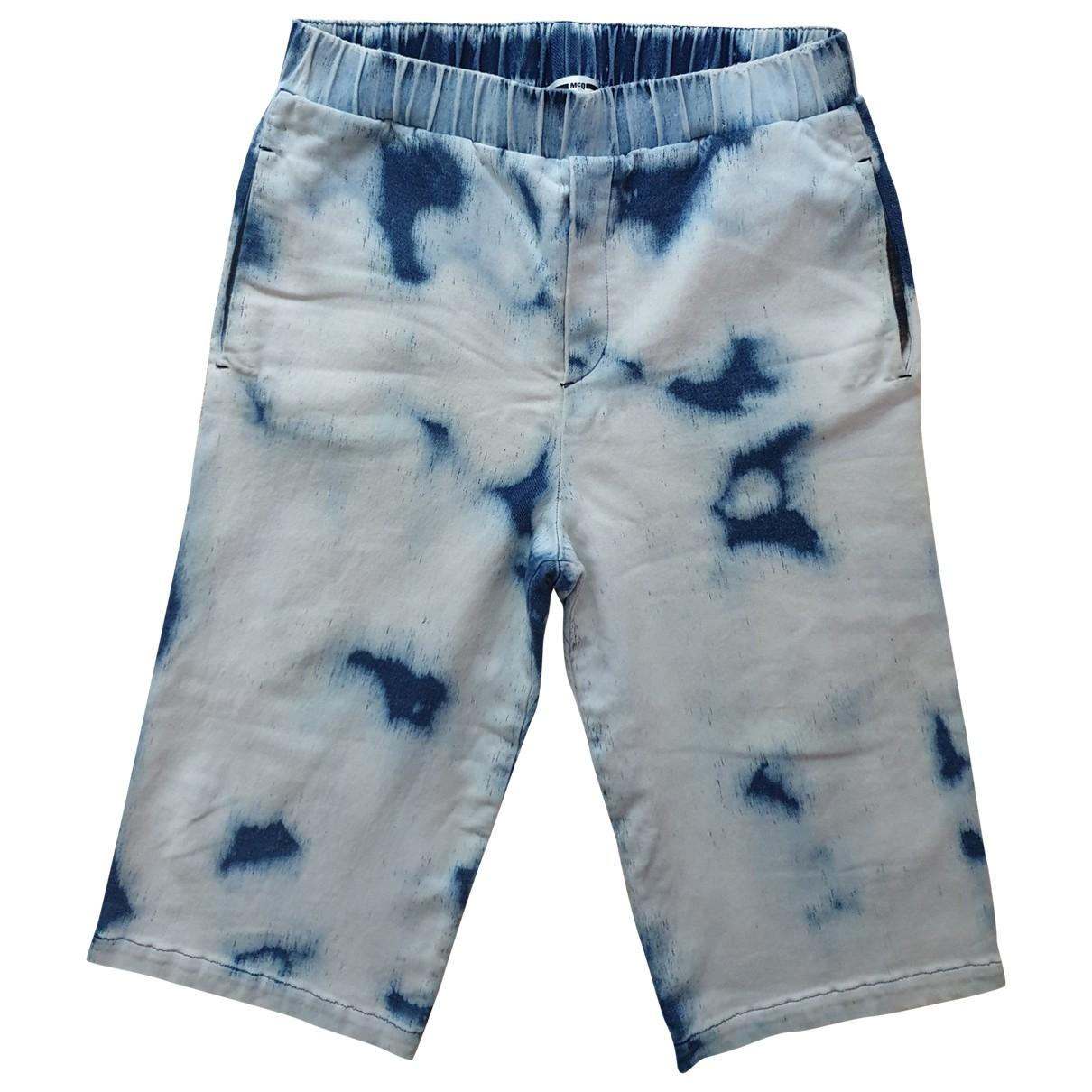 Mcq \N Multicolour Cotton Shorts for Men M International