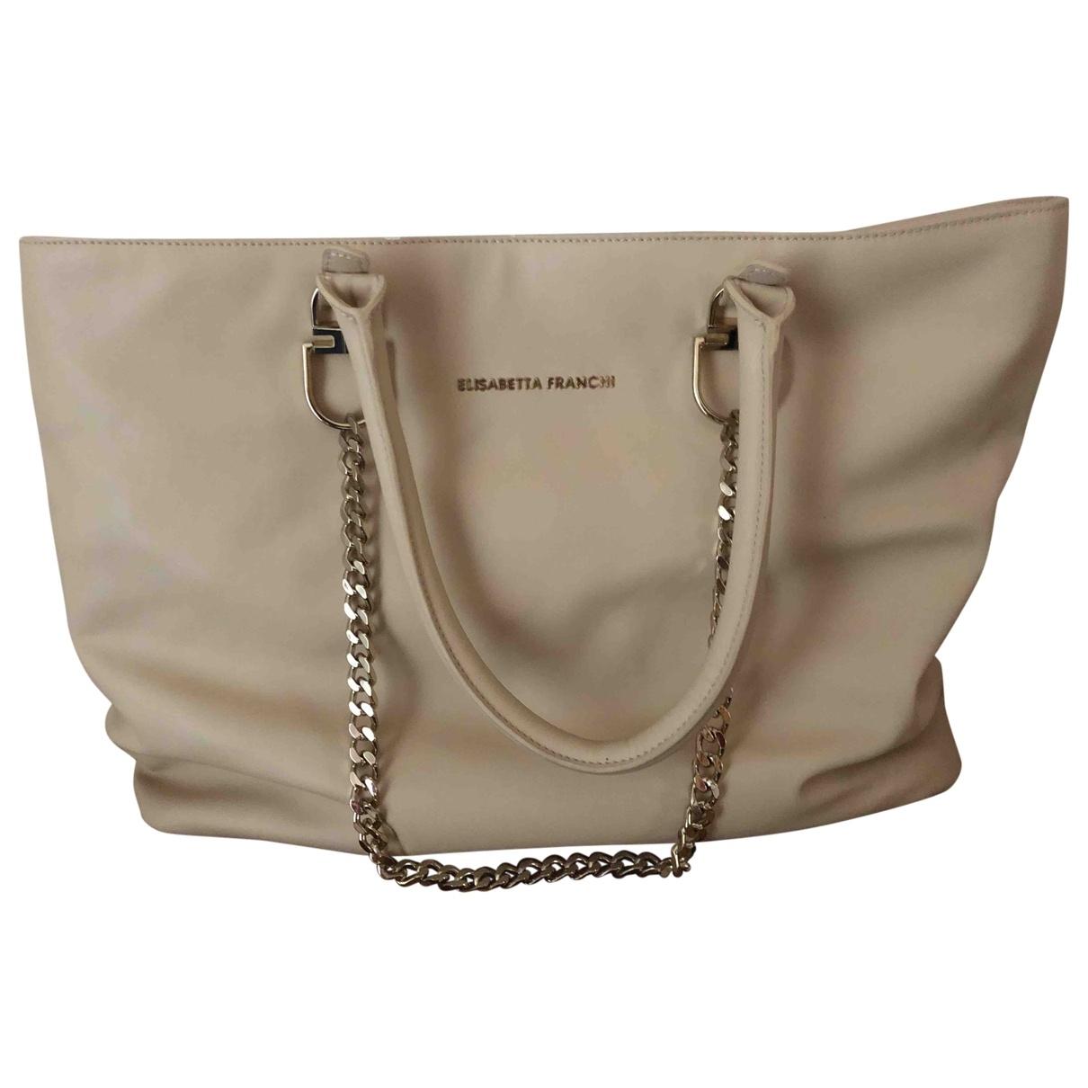 Elisabetta Franchi \N Camel Travel bag for Women \N