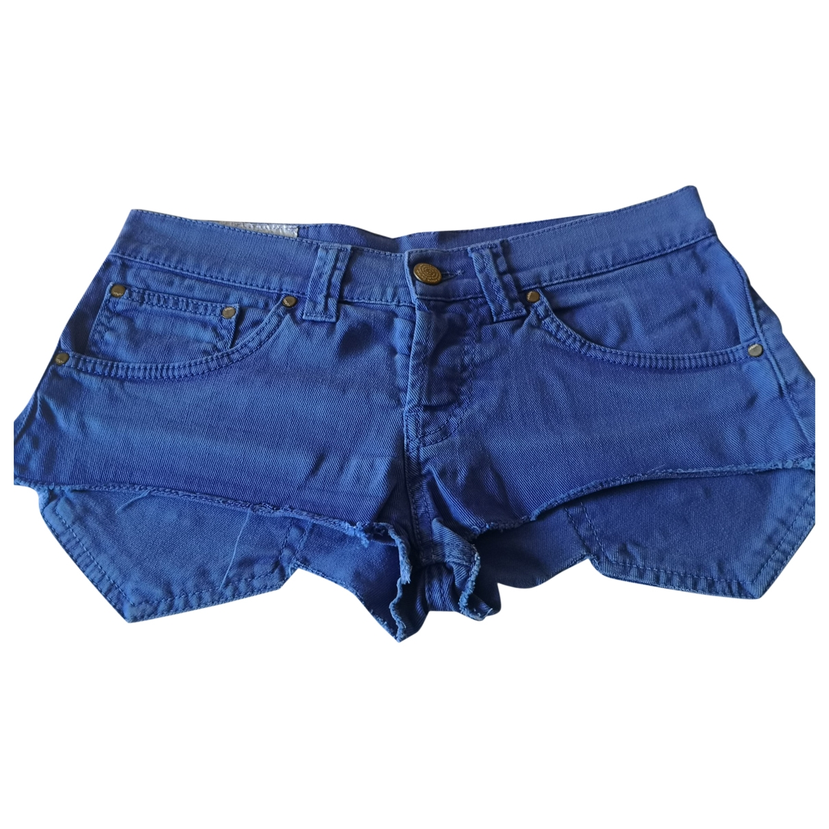 Dondup \N Shorts in  Blau Denim - Jeans