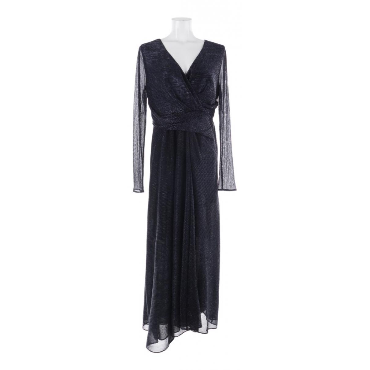 Talbot Runhof \N Kleid in  Blau Synthetik