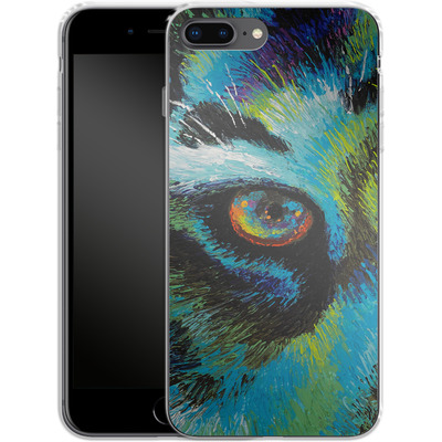Apple iPhone 7 Plus Silikon Handyhuelle - Will Cormier - Tiger Eyes von TATE and CO