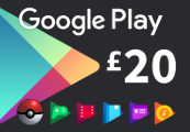 Google Play £20 UK Gift Card