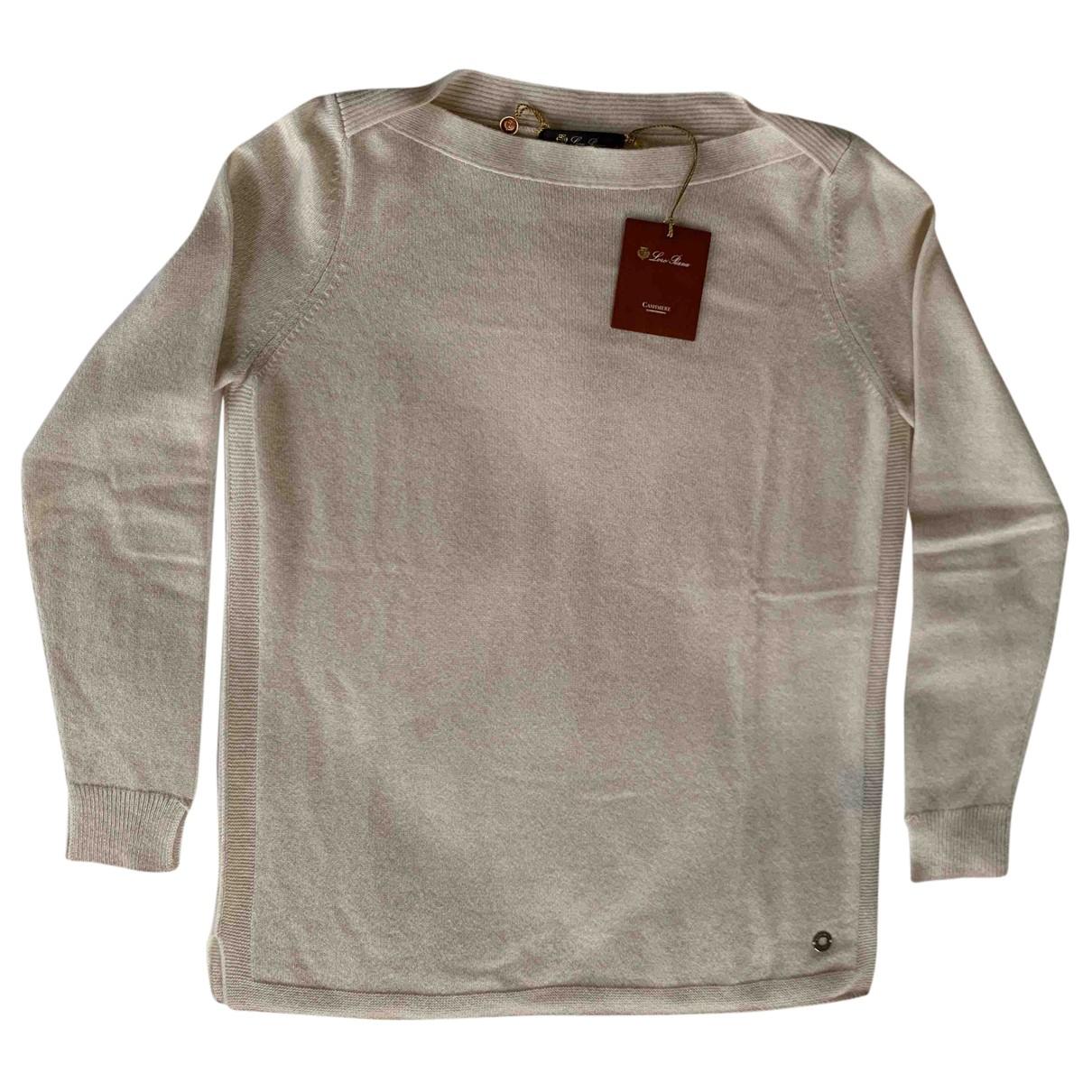 Loro Piana N Beige Cashmere Knitwear for Women 44 IT
