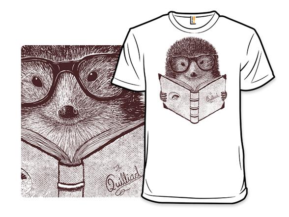 Hipster Hedgehog T Shirt