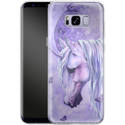 Samsung Galaxy S8 Plus Silikon Handyhuelle - Moonlit Magic von Selina Fenech