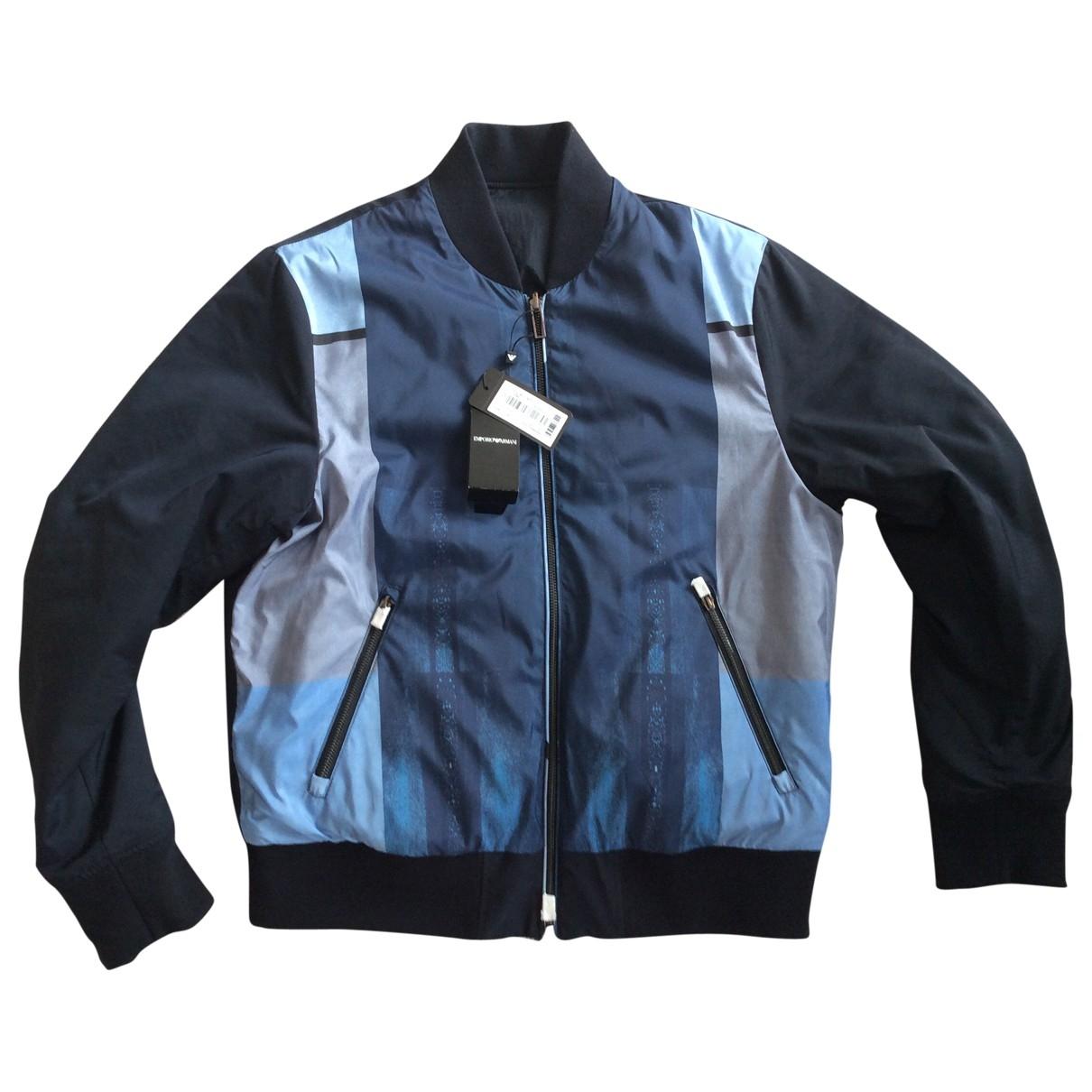 Emporio Armani \N Blue jacket  for Men 54 FR