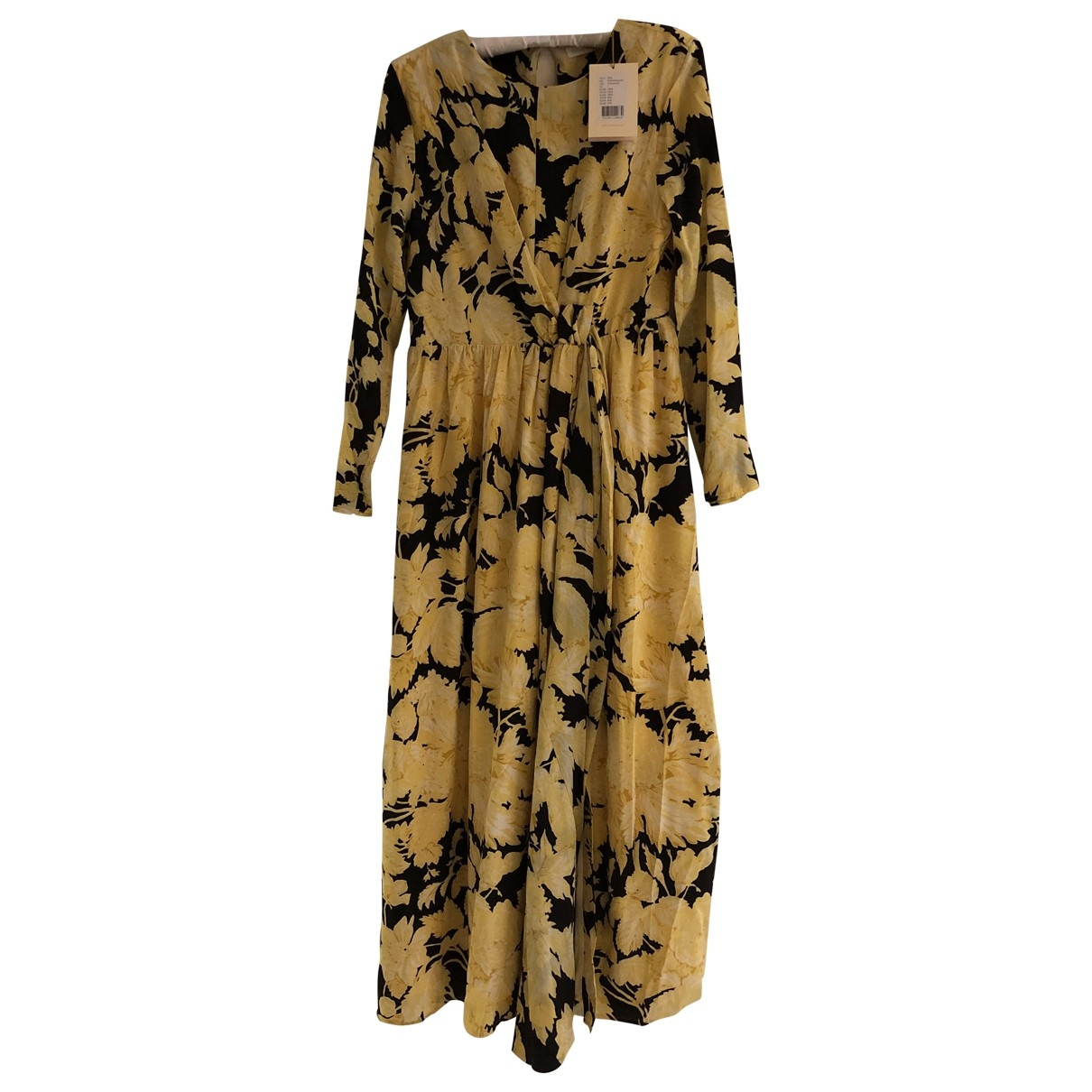 Stine Goya \N Black Silk dress for Women 14 UK