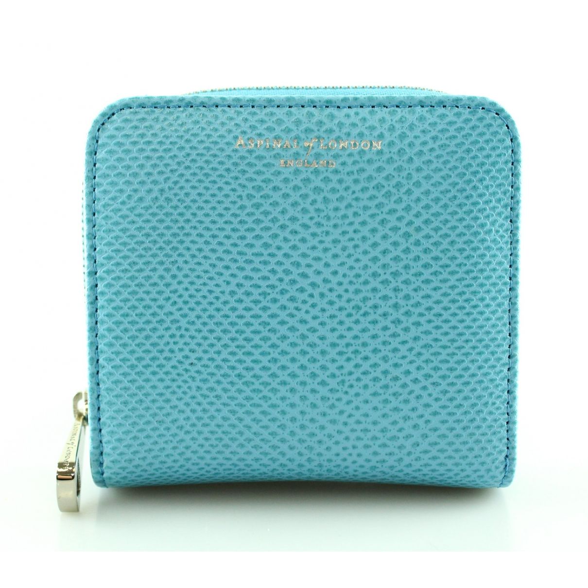 Aspinal Of London \N Blue Leather wallet for Women \N