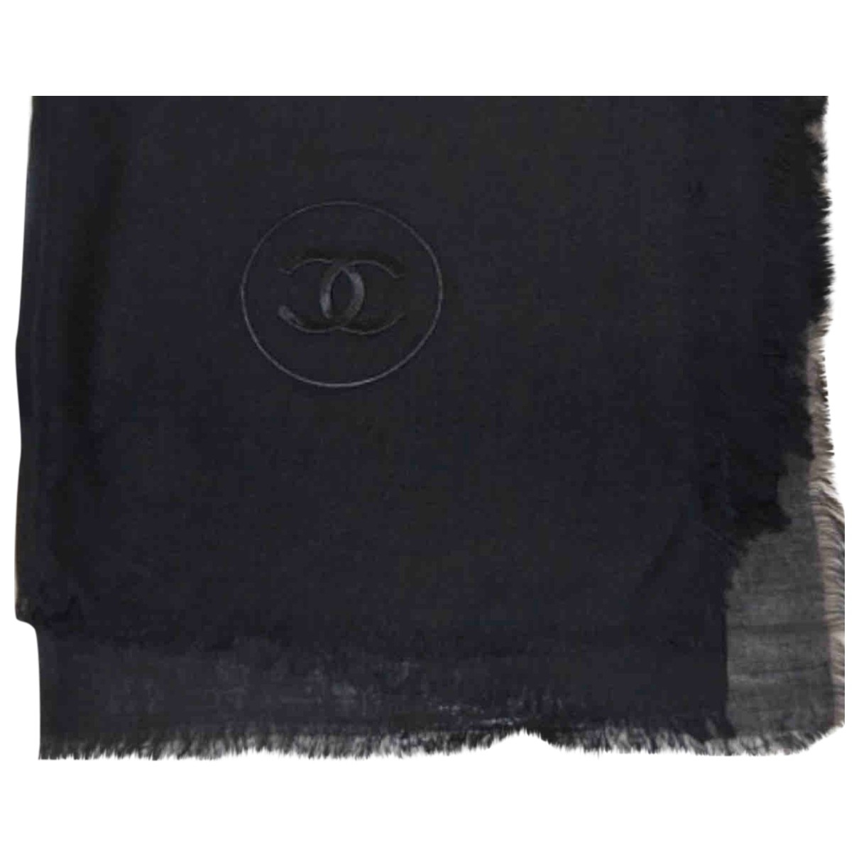 Chanel \N Black Cashmere scarf for Women \N