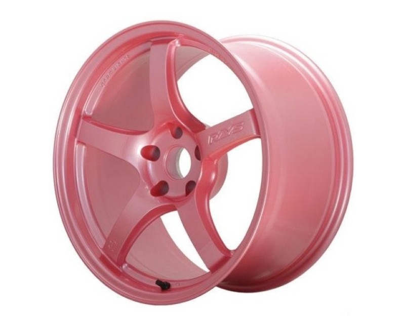 GramLights WGIAC22EPP 57DR Wheel 18x10.5 5x114.3 22mm Sakura Pink