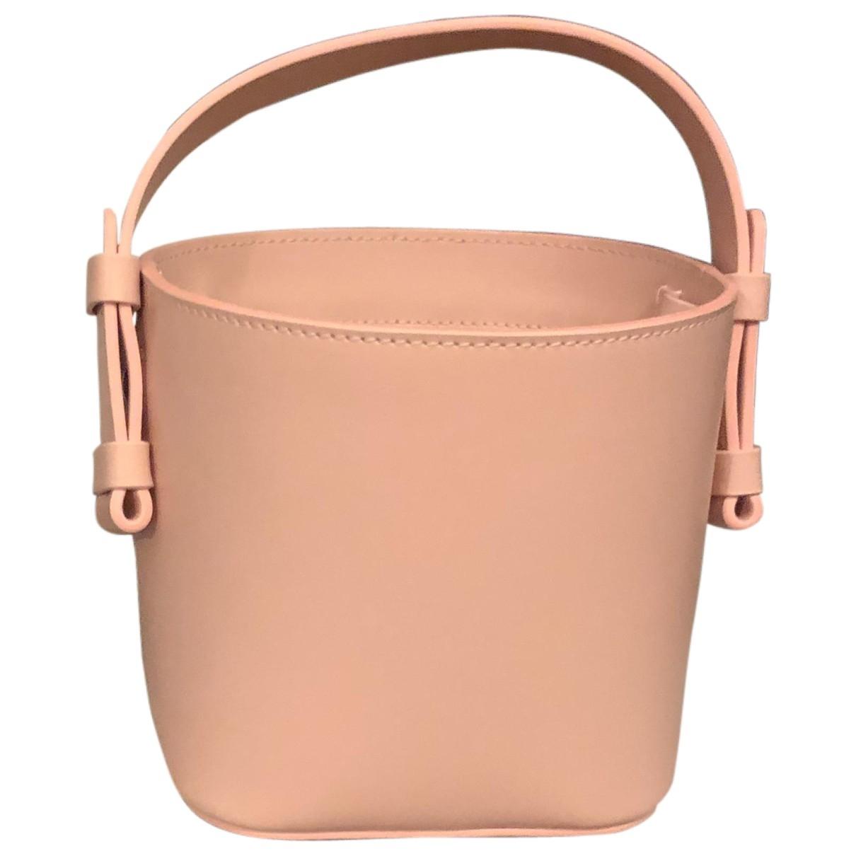 Nico Giani \N Handtasche in  Rosa Leder