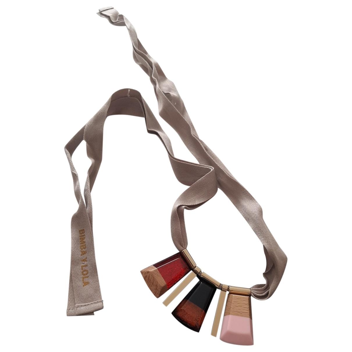 Bimba Y Lola \N Multicolour Metal Long necklace for Women \N