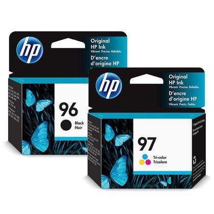 HP 96 97 C8767WN C9363W cartouche d'encre originale noir et tricolore combo
