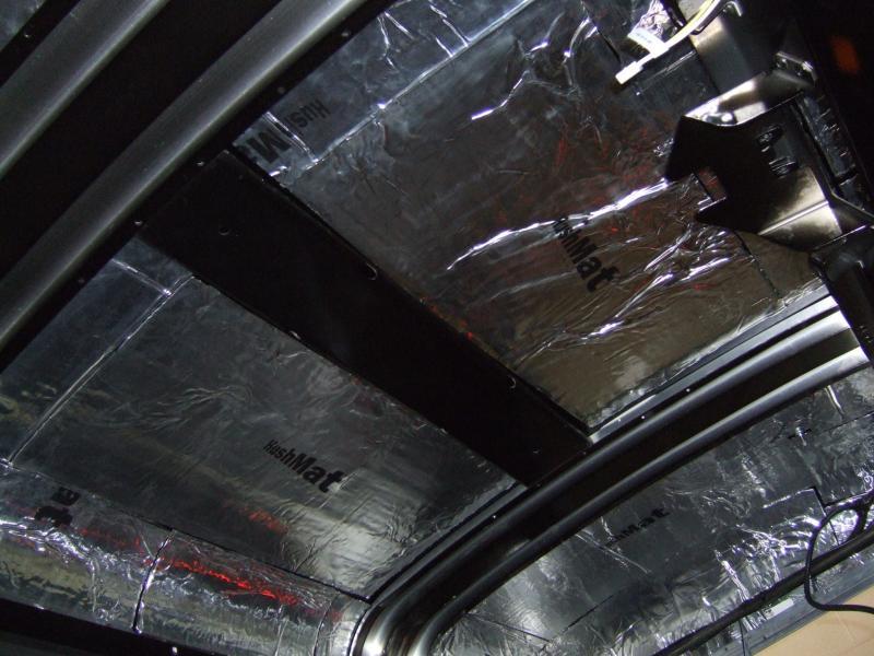 Hushmat 687985 Roof Custom Insulation Kit Toyota Camry 1999-2003