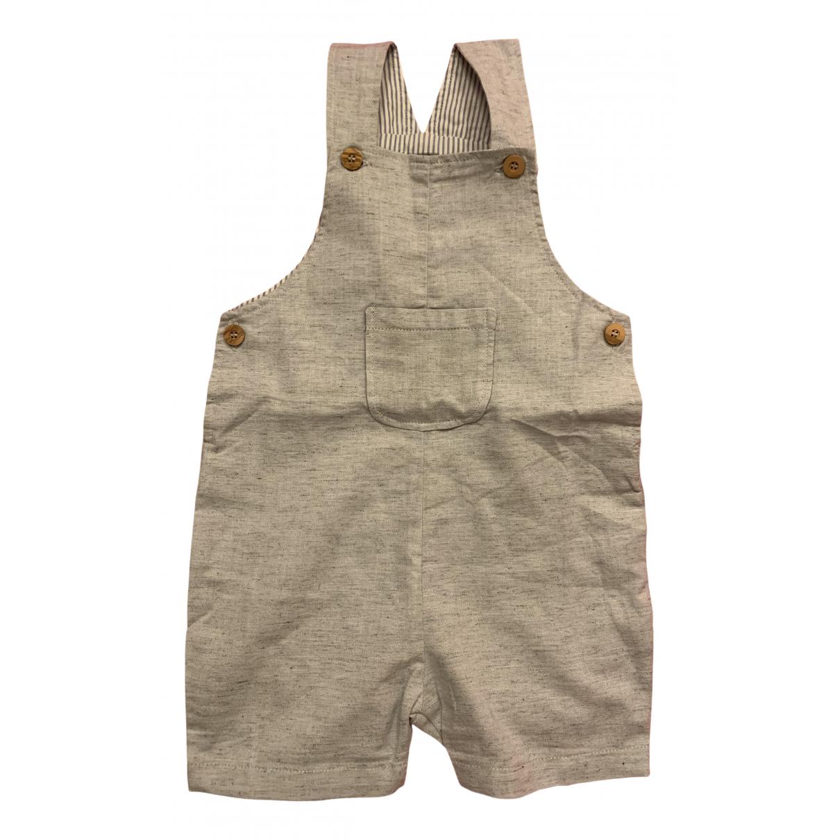 Les Enfantines - Pantalon   pour enfant en coton - bleu