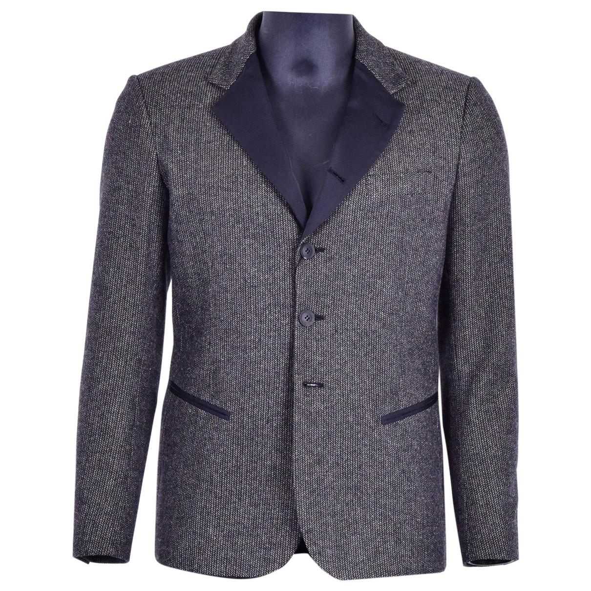 Dolce & Gabbana - Vestes.Blousons   pour homme en laine - marron