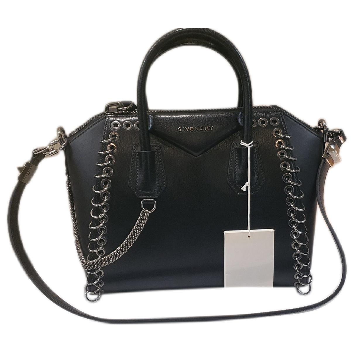 Givenchy - Sac a main Antigona pour femme en cuir - noir
