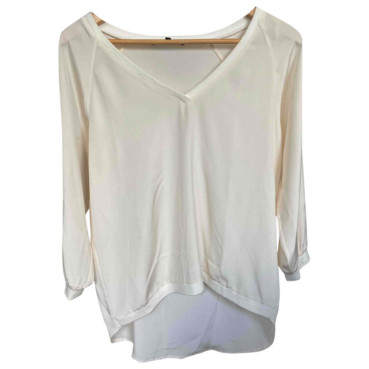 Tibi N White Silk  top for Women 4 UK