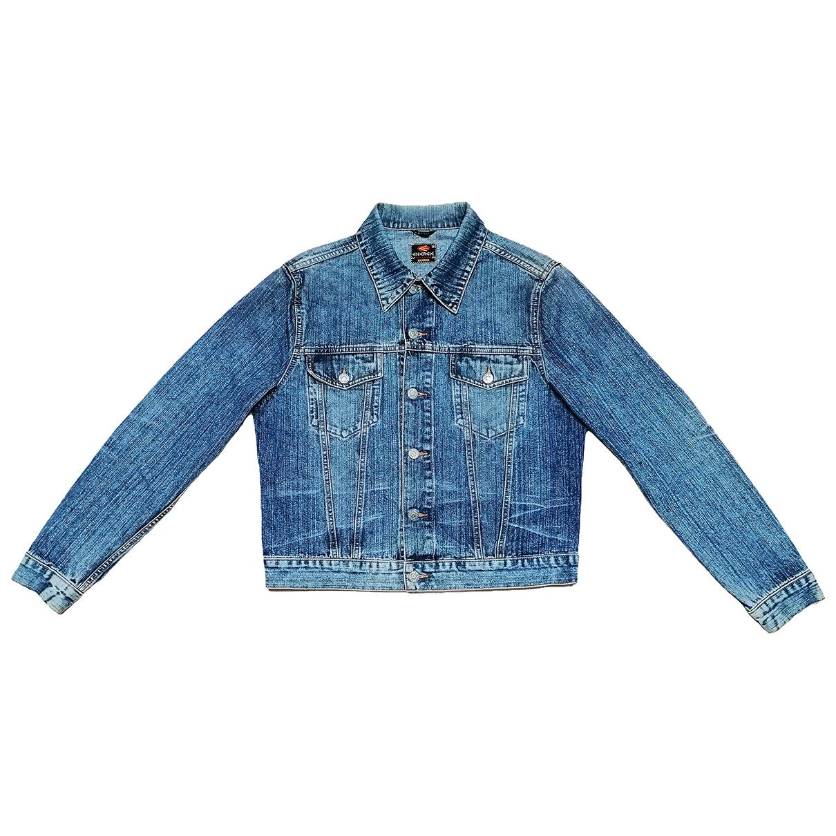 Non Signé / Unsigned \N Blue Denim - Jeans jacket for Women L International