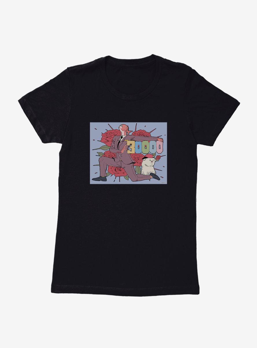 Business Fish 3000 Likes Womens T-Shirt
