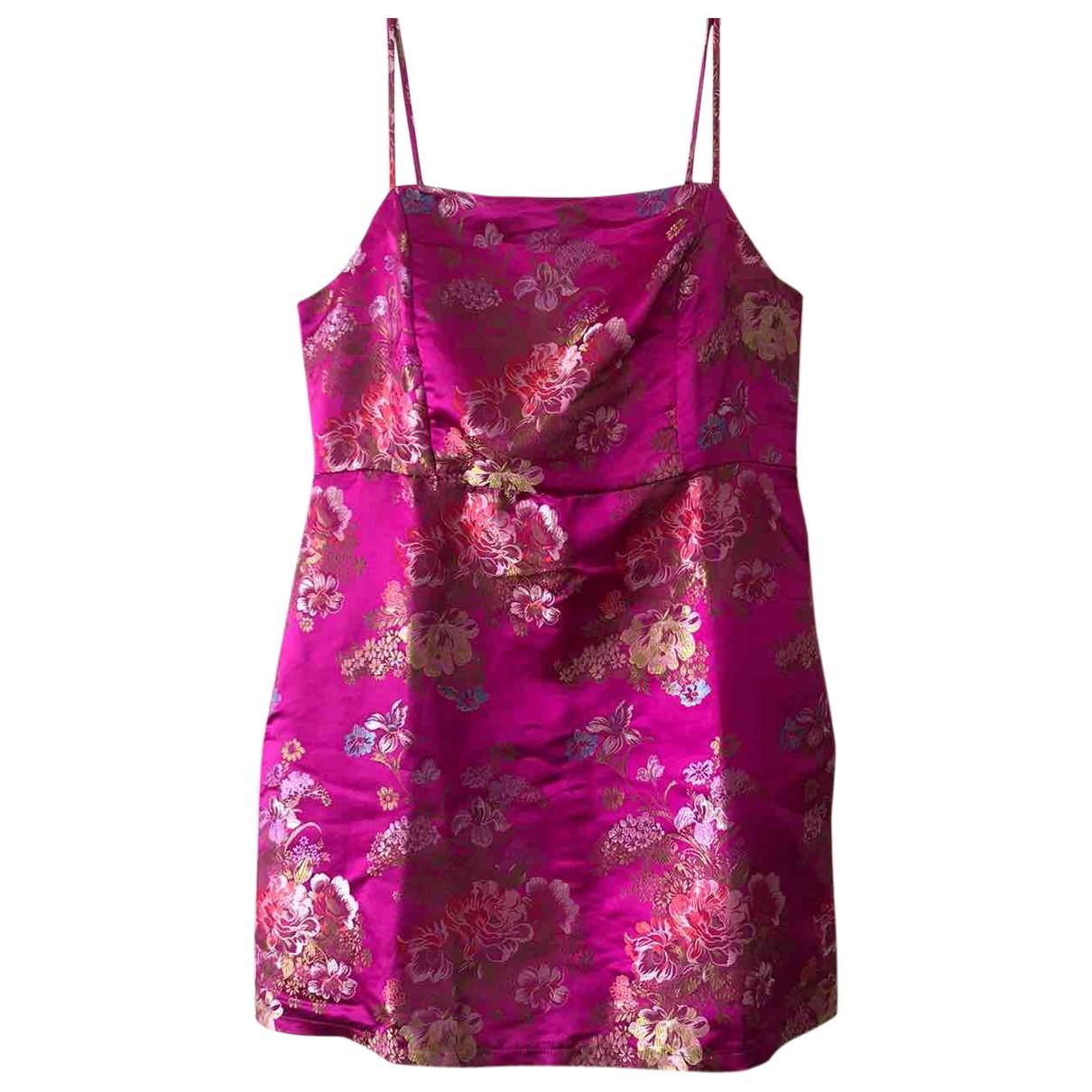 Asos \N Kleid in  Rosa Synthetik