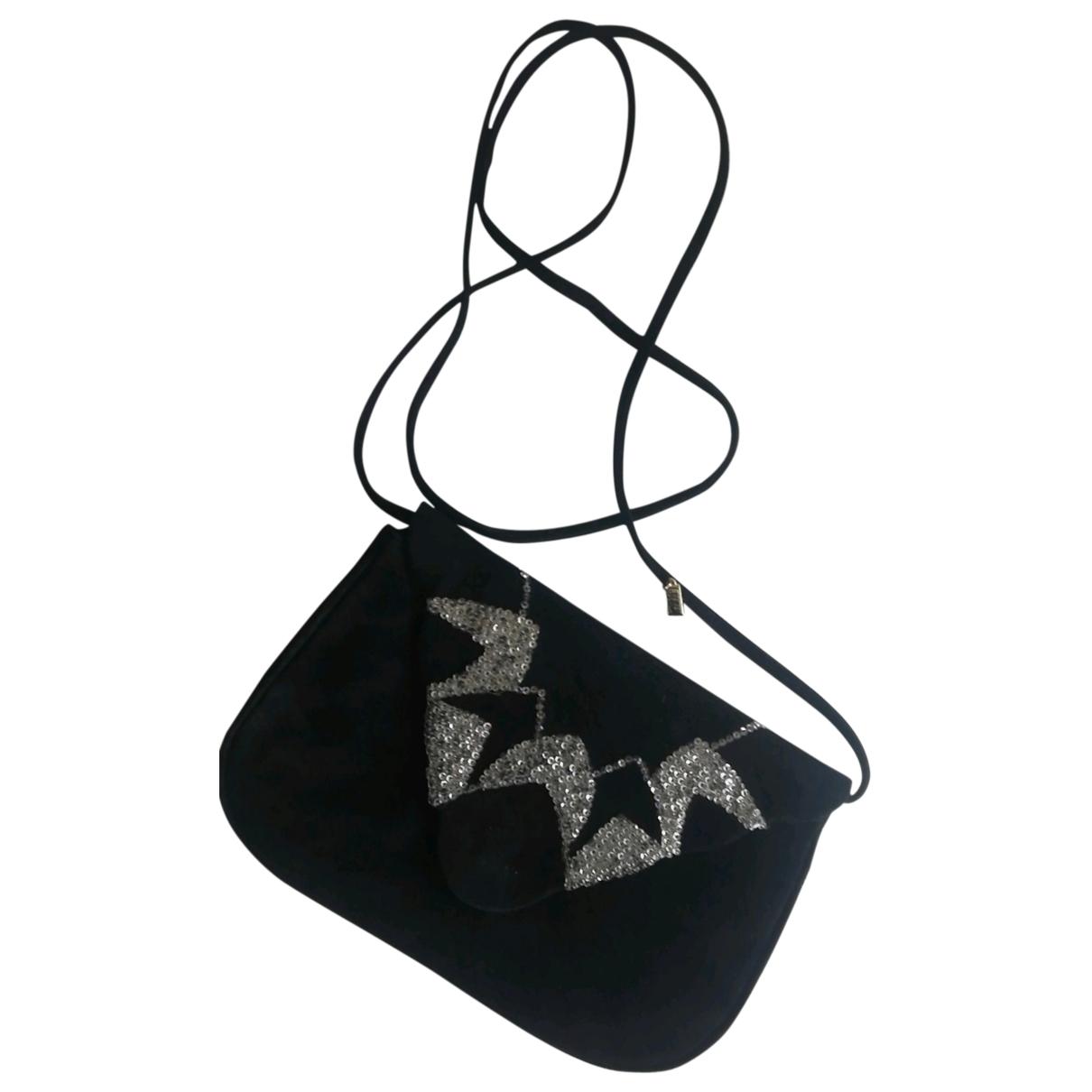Rene Caovilla \N Black Suede handbag for Women \N