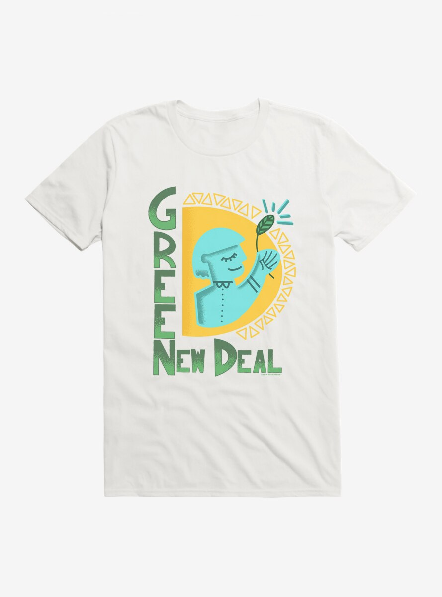 Green New Deal Shine On T-Shirt