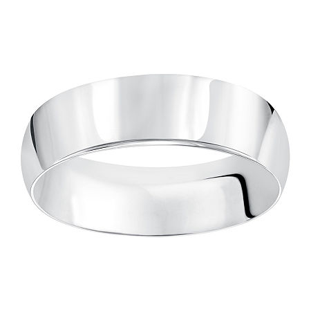 6MM 14K Gold Wedding Band, 8 1/2 , No Color Family