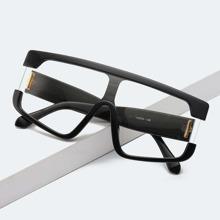 Men Flat Top Glasses
