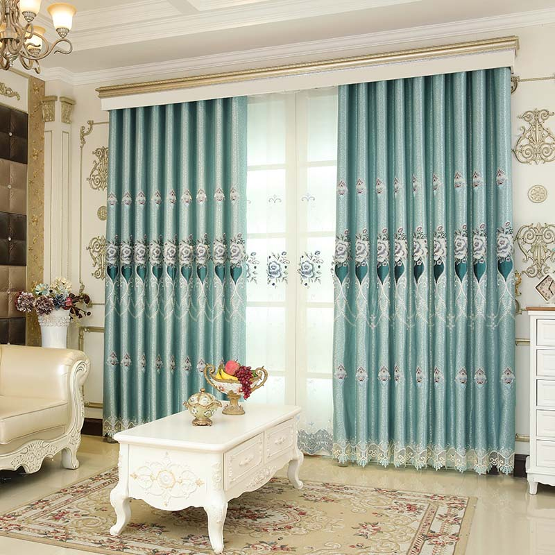 Beddinginn Decoration European Curtain Curtains/Window Screens