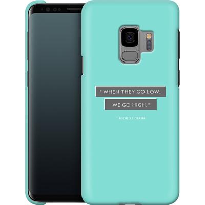 Samsung Galaxy S9 Smartphone Huelle - Aim High von caseable Designs