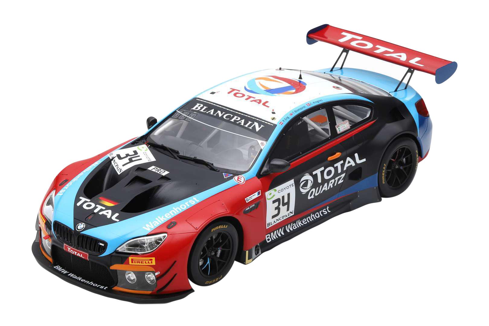BMW M6 GT3 34 T. Blomqvist / C. Krognes / P. Eng Winners 24H SPA (2018)