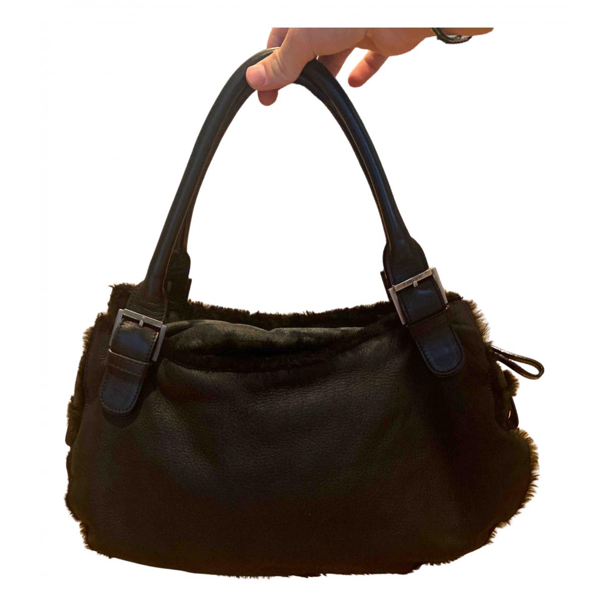 Casadei - Sac a main   pour femme en cuir - noir