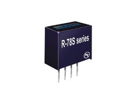 Recom Through Hole Switching Regulator, 3.3V dc Output Voltage, 0.65 → 3.15V dc Input Voltage, 100mA Output