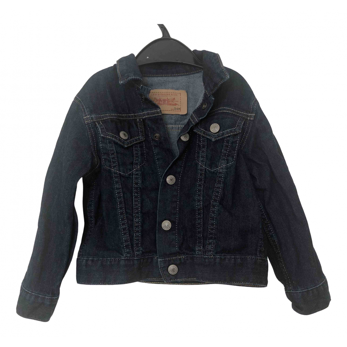 Levi's \N Navy Denim - Jeans jacket & coat for Kids 2 years - up to 86cm FR