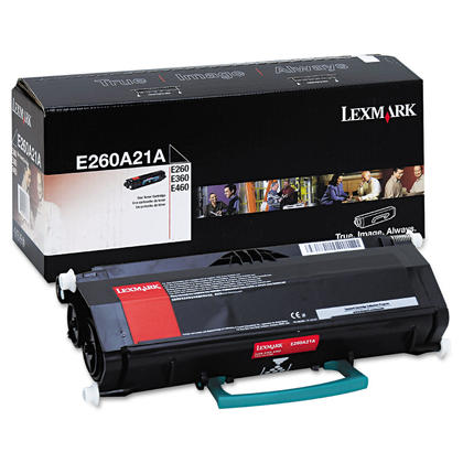 Lexmark E260A21A Original Black Toner Cartridge