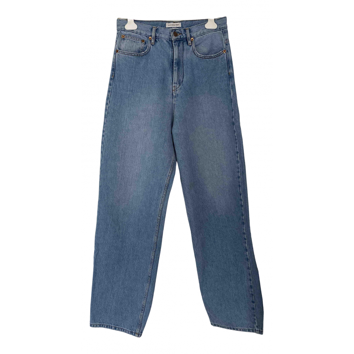 Isabel Marant Etoile \N Blue Cotton Jeans for Women 36 FR