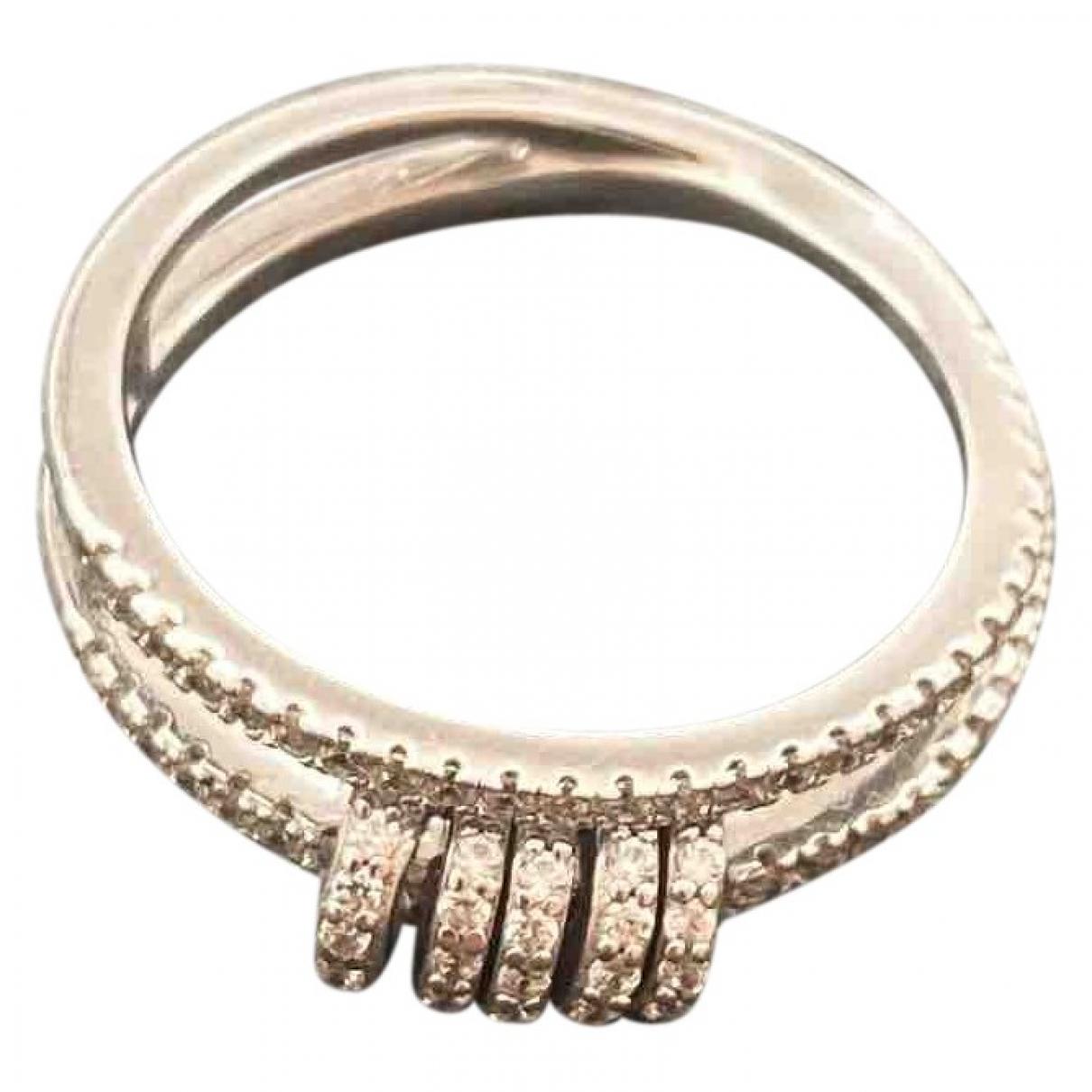 Apm Monaco \N OhrRing in  Silber Metall