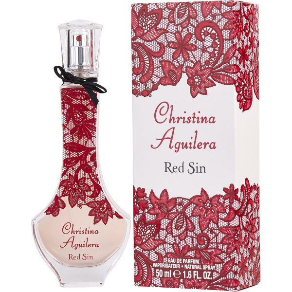 Christina Aguilera - Red Sin : Eau de Parfum Spray 1.7 Oz / 50 ml