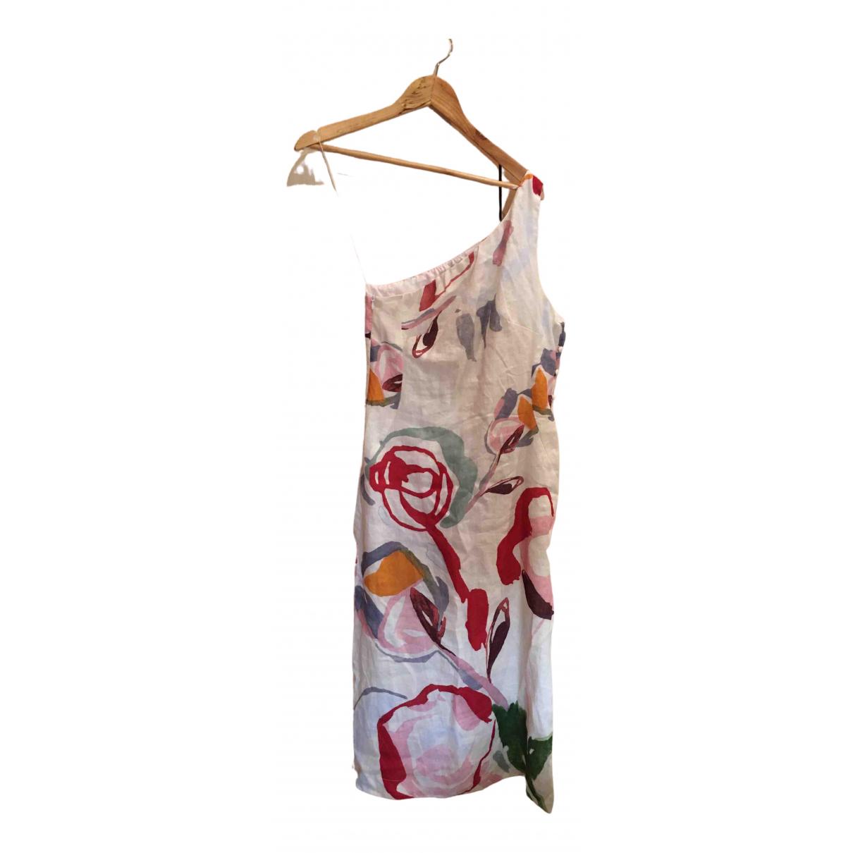 Cult Gaia - Robe   pour femme en lin - multicolore