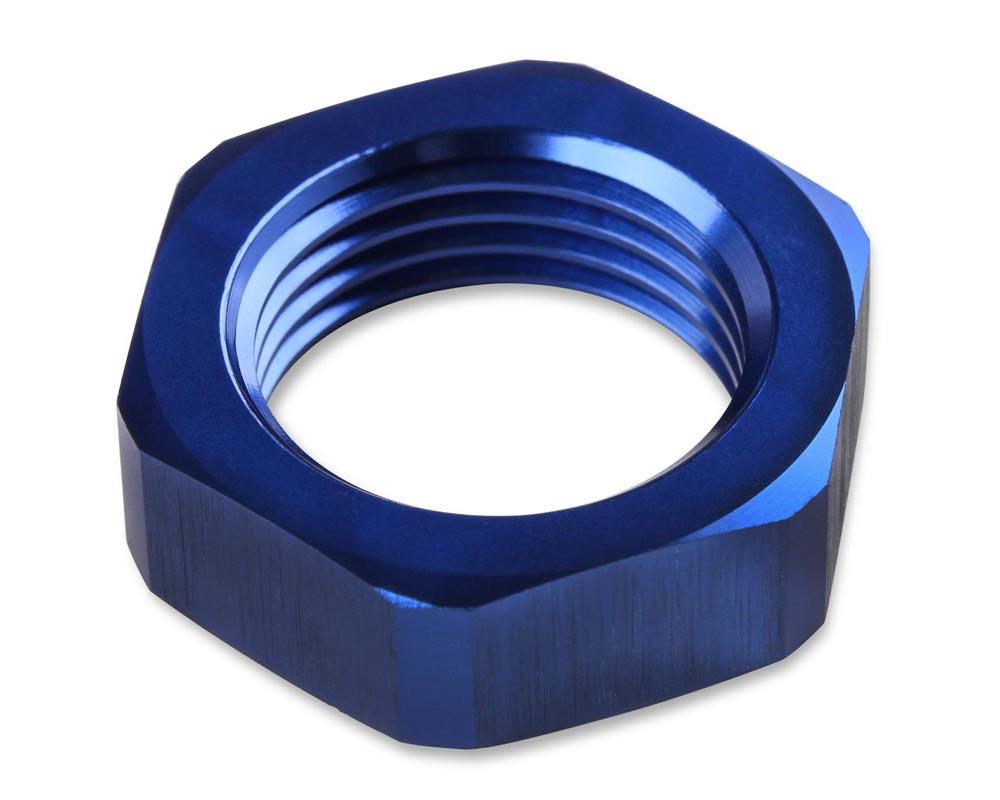 Mr. Gasket -10 AN Bulkhead Nut -Blue