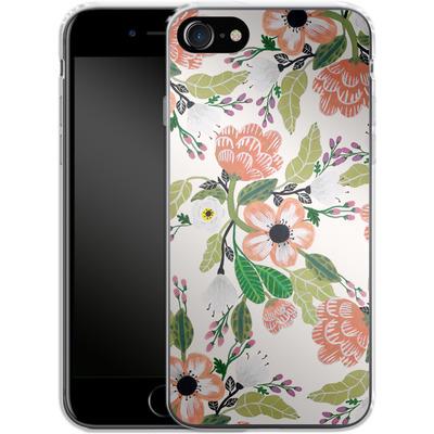Apple iPhone 7 Silikon Handyhuelle - Botanical Dream von Iisa Monttinen