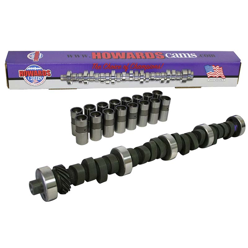 Mechanical Flat Tappet Camshaft & Lifter Kit; 1969 - 1996 Ford 351W 3200 to 7200 Howards Cams CL220642-06DL CL220642-06DL