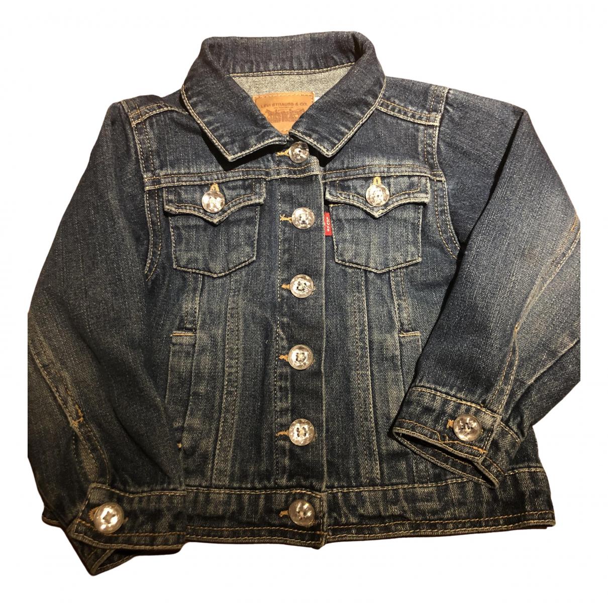 Levis \N Jacke, Maentel in  Blau Denim - Jeans