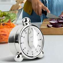 1pc Alarm Clock Shaped Cooking Timer